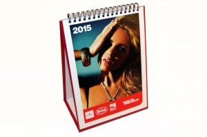 Calendari de mesa vertical