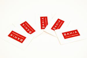 Tarjetas de visita imprenta bahia